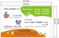 Namecard in nhanh